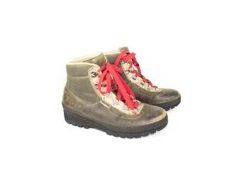 Raichle Leather Hiking Boots / vintage