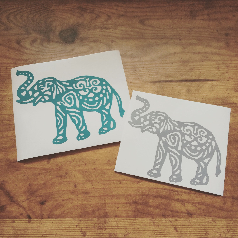 Elephant Decal Etsy Il Fullxfull Qkwc