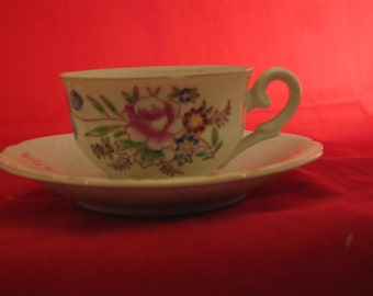 Dematause  cup and saucer made in Japan