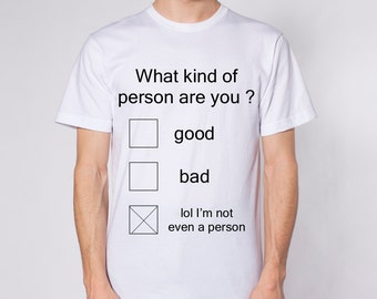 Not A Person Tee