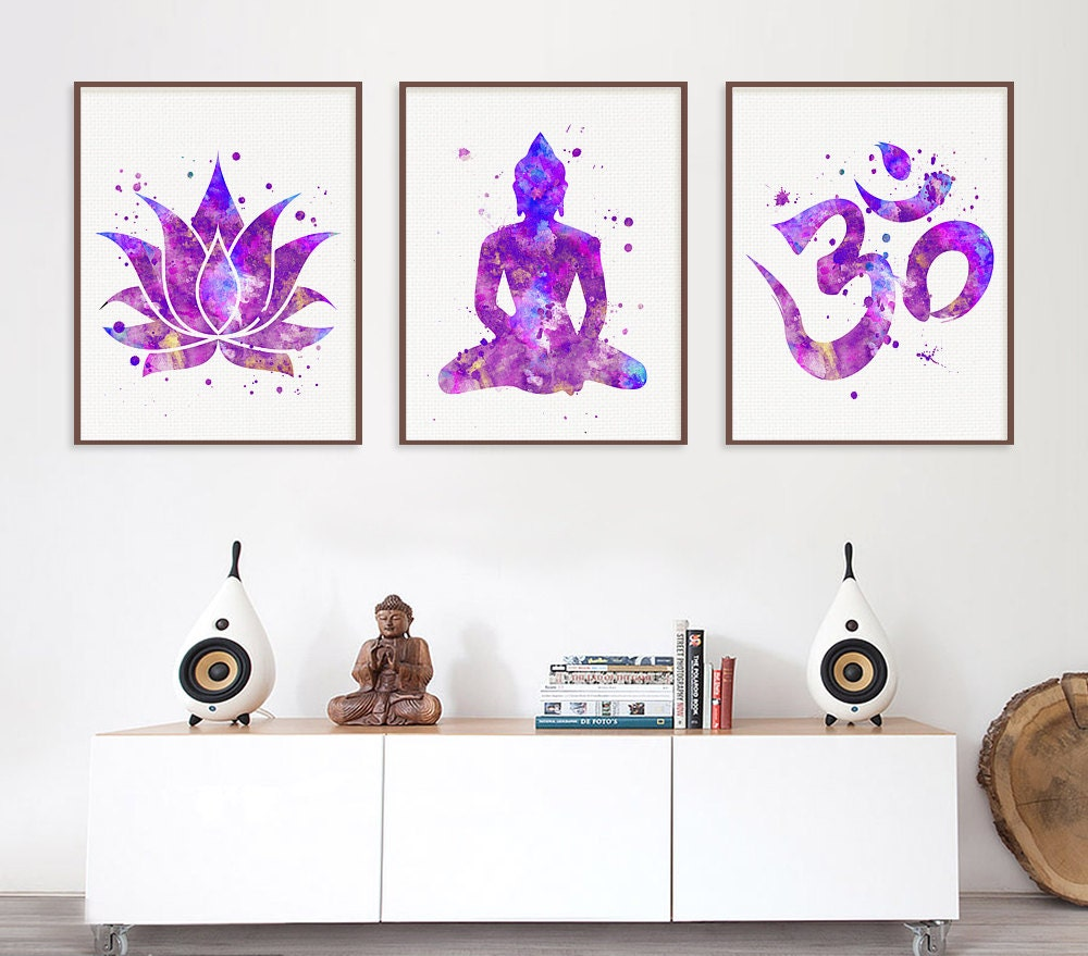 Yoga Wall Art - ganesh wall art - iyodd.com with ganesha