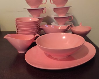 Boonton Melmac Luncheon Set