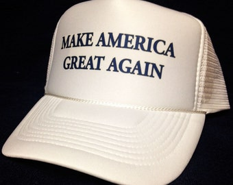 Make America Great Again hat Trucker Hat Mesh Hat SnapBack Hat Donald Trump for President NEW