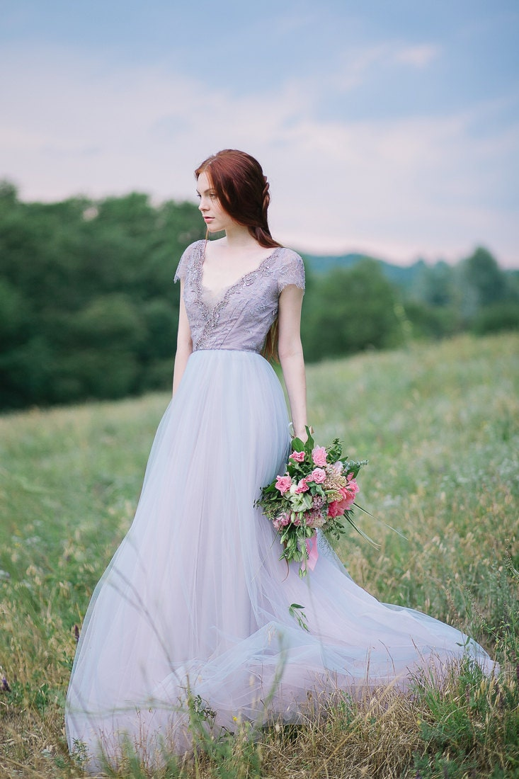 tulle wedding gown lavanda limited edition deposit