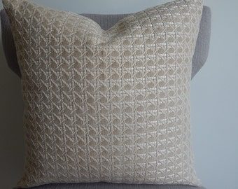 Designer upholstery  fabric 18x18 pillow cover, throw pillow decorative pillow
