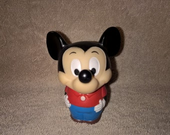 1980 Ideal Mickey Mouse Squeaky Toy