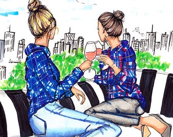 Rooftops and Rosé