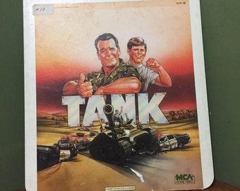 Vintage tank lazer disk