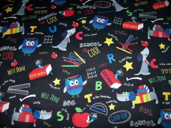 Per yard fabric all about school children 39 s fabric by for Children s clothing fabric by the yard