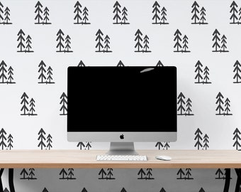 Forest Tree Wall adhesive wall decal