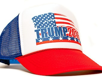Trump Etsy - Deplorable trump supporters hats with us map of red states
