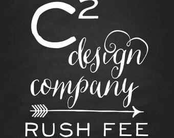 RUSH FEE: Digital Files