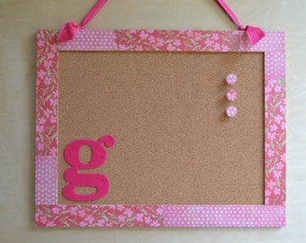 Personalized, Genuine Cork Bulletin Board for Everyday Use