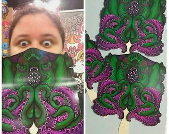 Set of 3 Cuthulu Fan - Masks
