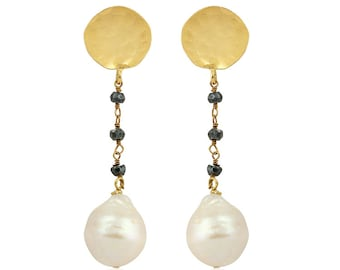 Baroque Drops. Special Handmade Baraque Earrings.