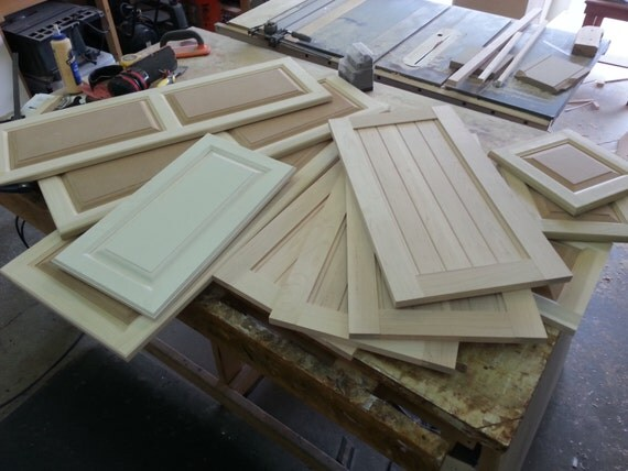 Custom Raised Panel Cabinet Doors Unfinished By