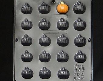 Pumpkin Bite Size Chocolate Candy Mold Halloween 927