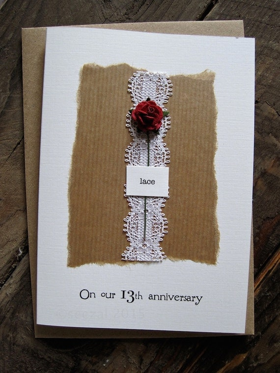 Romantic Lace Wedding Anniversary Gifts for Her