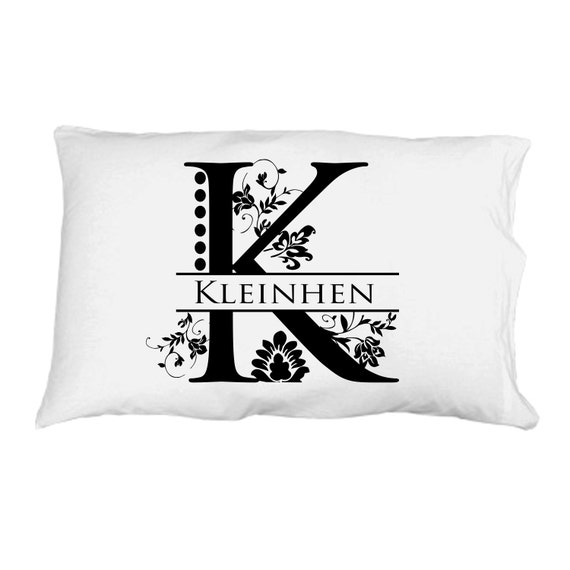Personalized Pillow Case / Wedding Gift / Monogram Pillows ...