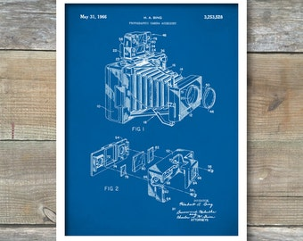 Photographic Camera Accessory Patent, Photographic Camera Accessory Poster, Photographic Camera Accessory Print, P170