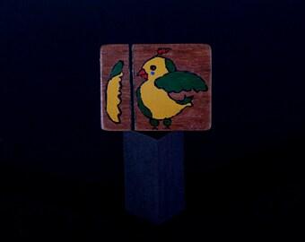 Bird | Broken wing | Blackwood | Tasmanian | Handmade