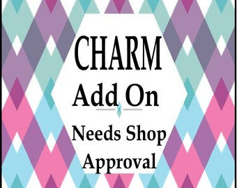 Add on a Pre approved Charm....To Be Used Only With Your Jewelry From ThatKindaGirl Shop