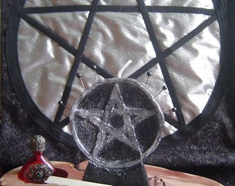 Pentacle protection/Pentacle candle protection candle