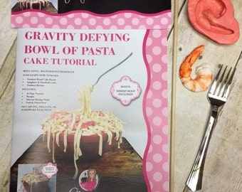 Gravity Defying Bowl of Pasta Cake Tutorial Kit