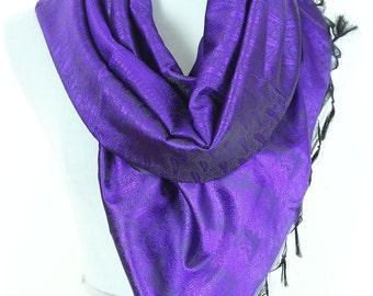 Solid Color Scarf (Purple)
