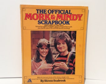 Vintage 1970s 'The Official Mork and Mindy Scrapbook' Hard to Find
