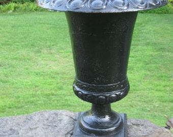 Fabulous,Antique Ornamental Cast Iron Garden Urn/Planter...