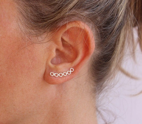 earrings that go up the earlobe simple ear cuff ear sweep earrings trendy earrings up the 8512