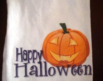 Flour Sack Kitchen Towel Halloween