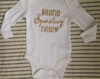 Brand sparkling new onesie-glitter onesie-type onesie
