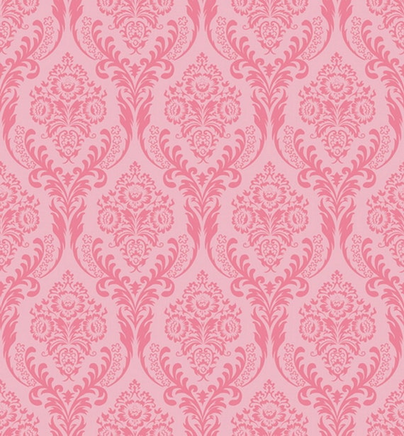 Items similar to Fancy Damask Pink Backdrop, Damask ...