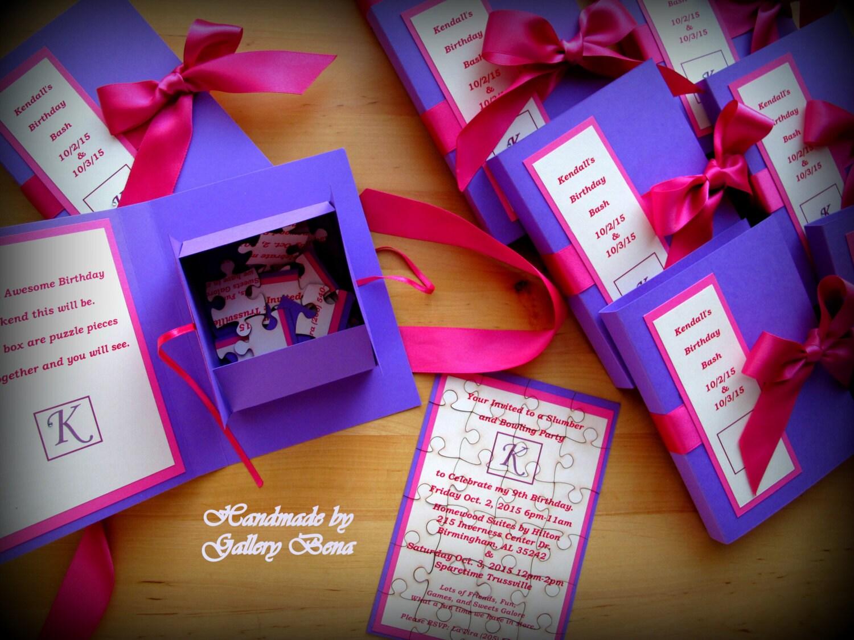 puzzle wedding invitation unique birthday cards book wedding
