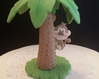 Jungle Baby Shower Decorations, Boy Baby Shower, Jungle Baby Shower Favor, Jungle Birthday Party, Jungle Cake Topper, Safari Cake Toppers