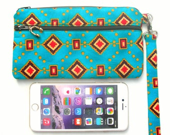 Phone pouch. Phone wristlet. Iphone pouch. Cell phone wristlet. Cell phone pouch. Mobile phone pouch. Mobile phone wristlet.