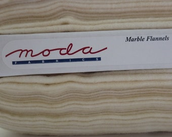 Natural Marble Flannel by Moda Fabrics F9880-36  Off-White / Natural