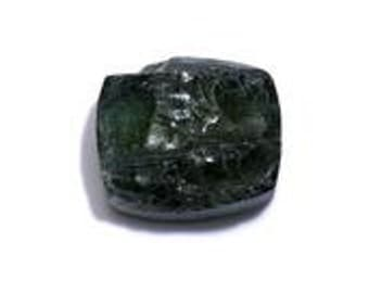 Natural Green Apatite Cushion Rough Cut Loose Gemstone 1A Quality 12x10mm TGW 6.50 cts.