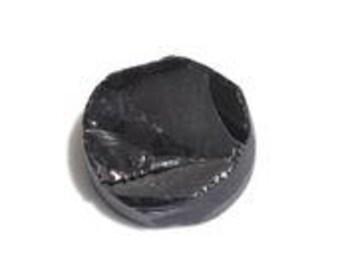 Thai Black Spinel Round Rough Cut Loose Gemstone 1A Quality 9mm TGW 2.80 cts.