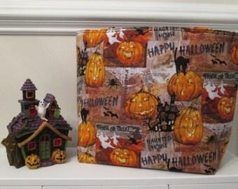 Jack O'Lantern Halloween Trick or Treat Bag