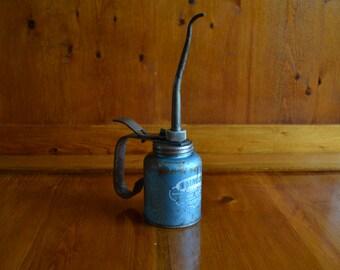 Vintage Rainbow Oil Pump Can