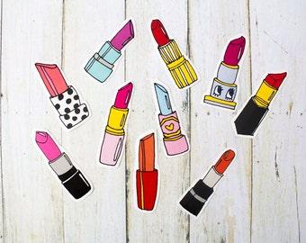Lipstick Sticker Pack