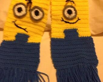 Yellow cartoon  scarf