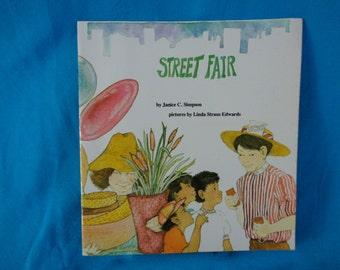 vintage 1983 Street Fair book by Janice C. Simpson