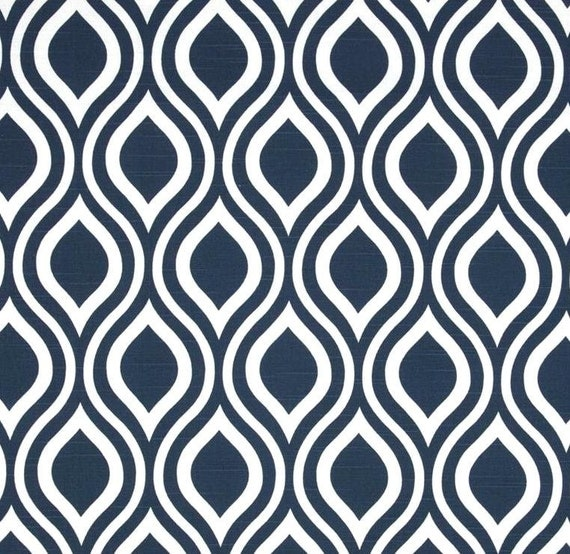 Modern navy blue fabric by the yard contemporary by for Designer fabric store