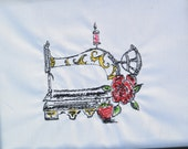 "Embroidery Digital File ""Vintage Sewing Machine"