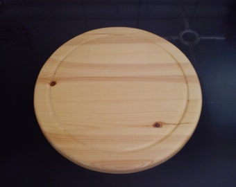 Solid pine cheese board