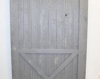 Custom Made Sliding Barn Door - Half X Design